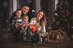 Novogodišnji porodični portret